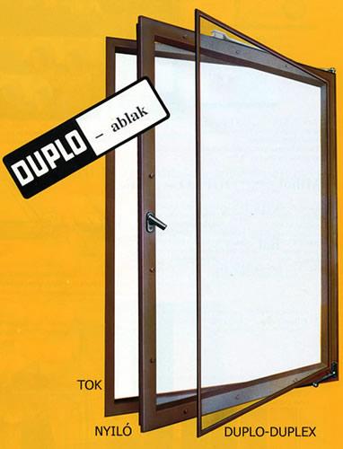 Duplo-Duplex ablakszigetelés